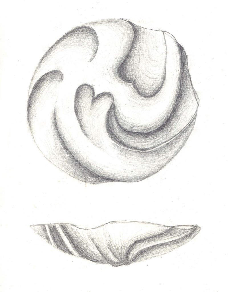 Design for a chased silver bowl